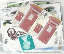 100 x 47p Discounted Postage Stamps (mixed designs)
